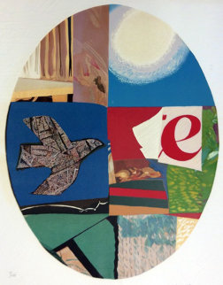 Oval Bird 1982 Limited Edition Print by Max Papart