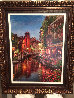 Annecy Night 2015 Embellished Limited Edition Print by Sam Park - 1