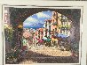 Archway to Cagnes 2001 55x45 Original Painting by Sam Park - 2