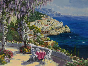 Amalfi Patio Limited Edition Print - Sam Park