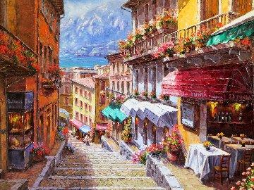 View of Giacomo 2013 30x40 Original Painting by Sam Park