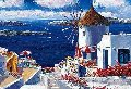 Windmill Santorini 2010 Limited Edition Print - Sam Park