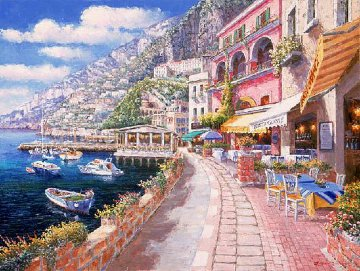 Dockside Amalfi 2003 Limited Edition Print - Sam Park