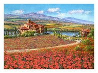 Tuscany Reverie 2010 Embellished  Limited Edition Print by Sam Park - 1