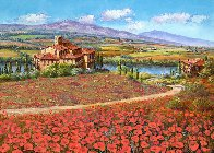 Tuscany Reverie 2010 Embellished  Limited Edition Print by Sam Park - 0
