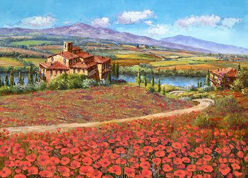 Tuscany Reverie 2010 Embellished  Limited Edition Print - Sam Park