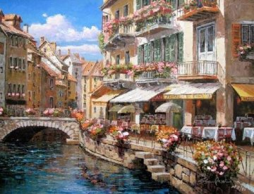 Bridgewalk Annecy 2008 Embellished  Limited Edition Print - Sam Park