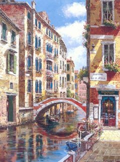 Sestiere Di San Polo 2008 Embellished  Limited Edition Print - Sam Park