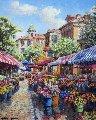 Nice Flower Market 2010 Limited Edition Print - Sam Park