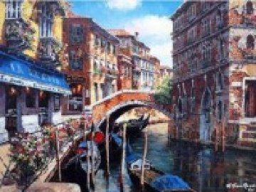 Venetian Vista 2009 Limited Edition Print - Sam Park