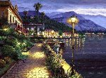 Lights of Bellagio Embellished 2010 Limited Edition Print - Sam Park