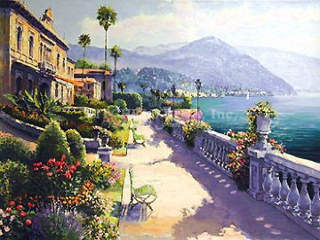 Lake Como Promenade 2000 Limited Edition Print - Sam Park