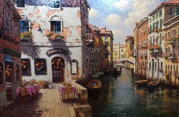 Venetian Colors 2001  Embellished AP  Limited Edition Print - Sam Park