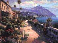 Lake Como Promenade 2000 Limited Edition Print by Sam Park - 1