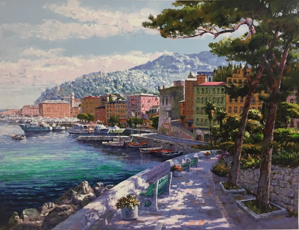 Santa Margherita 1998 Limited Edition Print by Sam Park