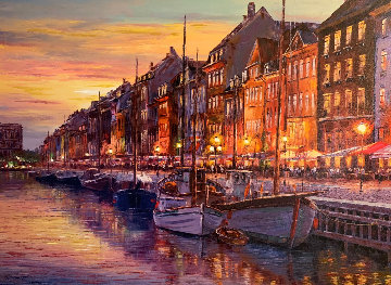Copenhagen 2018 Embellished Limited Edition Print - Sam Park