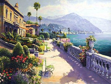 Lake Como Promenade 1999 Limited Edition Print by Sam Park