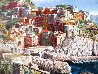 Manarola 30x40 Original Painting by Sam Park - 3