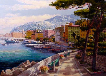 Santa Margherita 1998 48x60 Huge Limited Edition Print - Sam Park