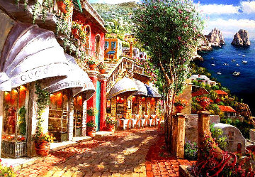 Afternoon in Capri PP Super Huge Limited Edition Print - Sam Park