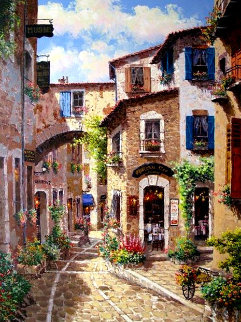 Antibes PP Limited Edition Print by Sam Park