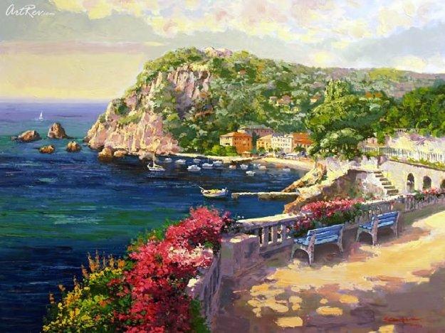 Costa Brava PP Limited Edition Print by Sam Park