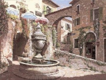St Paul De Vence PP Limited Edition Print - Sam Park