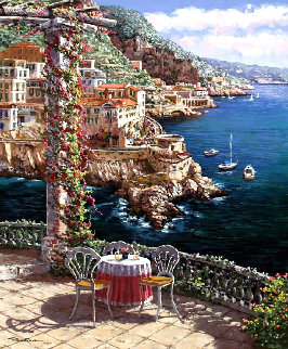Amalfi Vista PP Limited Edition Print by Sam Park