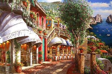 Afternoon in Capri PP Huge Limited Edition Print - Sam Park