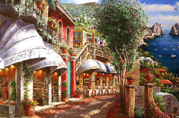 Afternoon in Capri PP Limited Edition Print by Sam Park