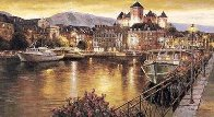 Annecy Nights PP Super Huge Limited Edition Print by Sam Park - 1