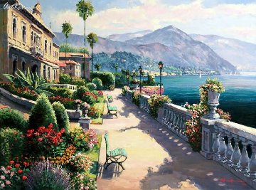 Lake Como Promenade PP Limited Edition Print - Sam Park