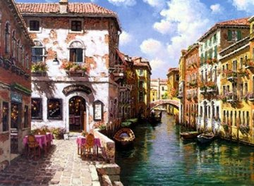 Venetian Colors PP Limited Edition Print by Sam Park