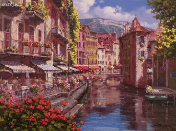Afternoon in Annecy PP Limited Edition Print - Sam Park