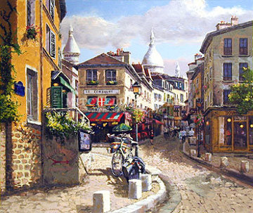 Montmartre PP Limited Edition Print by Sam Park