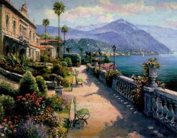 Lake Como 1999 Limited Edition Print - Sam Park
