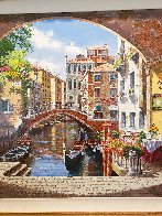 Archway to Venice 2003 Limited Edition Print by Sam Park - 3
