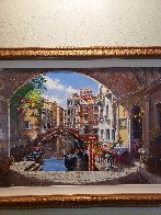 Archway to Venice 2003 Limited Edition Print by Sam Park - 4