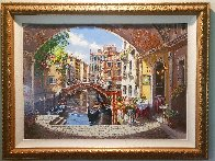 Archway to Venice 2003 Limited Edition Print by Sam Park - 5