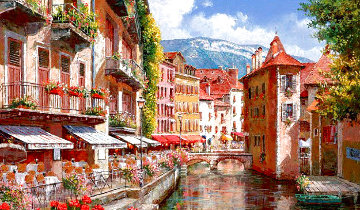 Afternoon in Annecy Limited Edition Print - Sam Park