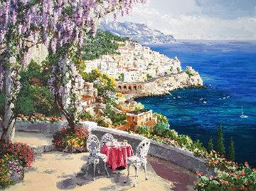 Amalfi Patio 2000 Limited Edition Print - Sam Park