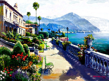 Lake Como Promenade 1999 Limited Edition Print - Sam Park