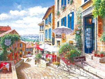 Streets of St Emilion 2002 Limited Edition Print - Sam Park