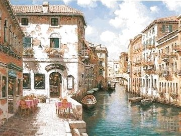 Venetian Colors 2001 Limited Edition Print - Sam Park