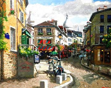 Montmartre AP Embellished Limited Edition Print - Sam Park
