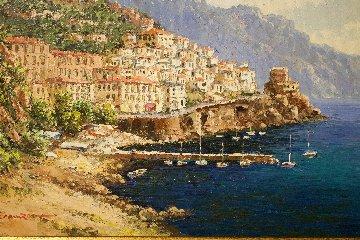 Amalfi 2000 19x24 Original Painting - Sam Park