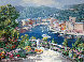 Bellagio, Varenna, and Portofino (Treasures of Italy Suite) Limited Edition Print by Sam Park - 0