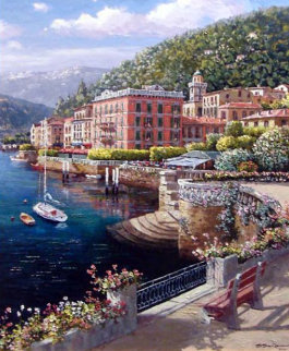 Lakeside At Bellagio AP 2003 Limited Edition Print - Sam Park