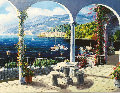 Arch of Bellagio, Italy 1999 40x50 Original Painting - Sam Park