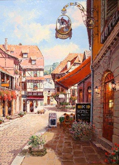 Bergheim 40x30 Original Painting by Sam Park